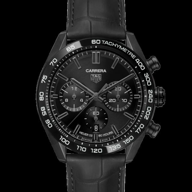 タグ・ホイヤー カレラ キャリバーホイヤー02 ジャパン ブラックエディション  CBN2A1G.FC6501